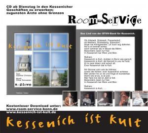 Plakat für den Karnevalskracher »kessenich ist kult«