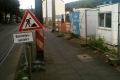 Baustelle vor neuem Lidl-Markt in Kessenich