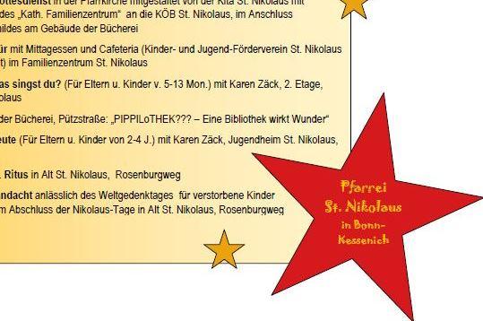 Einladung zu den Ersten Nikolaus-Festtagen