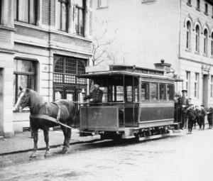 Pferdebahn / Kessenich Stadtarchiv